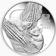 tiền xu chuột mạ bạc