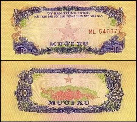 bộ tiền giải phóng 1963 600