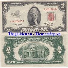 2 dollar 1953
