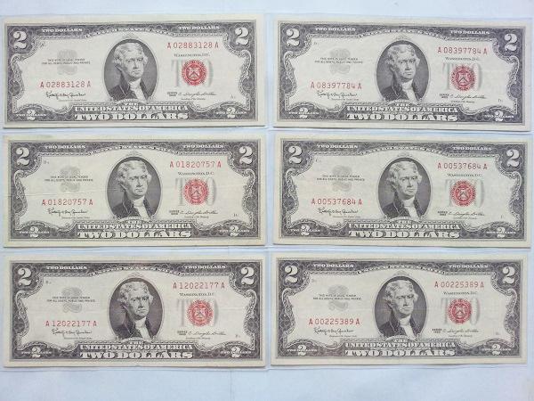 2 đô la năm 1963