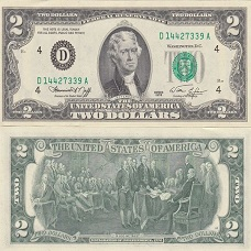 2 usd 1976 may mắn