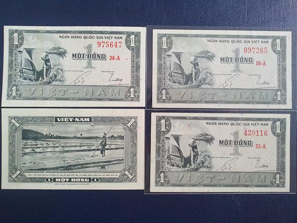 Bộ tiền 1955 lần 1 600