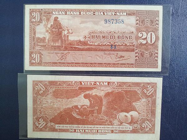 Bộ tiền 1955 lần 1 606