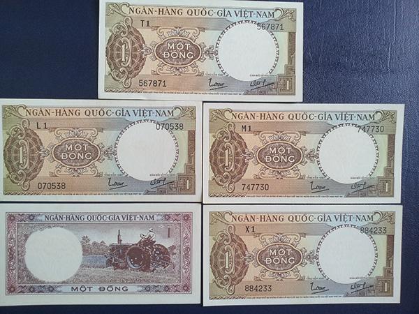 bộ tiền vnch 1964