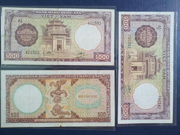 bộ tiền vnch 1964 601