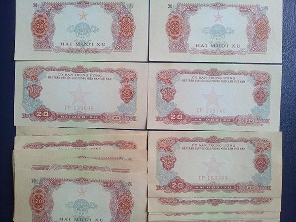 bộ tiền giải phóng 1963 601
