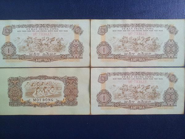 bộ tiền giải phóng 1963 603