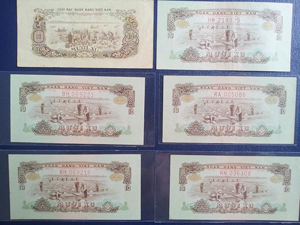 bộ tiền giải phóng 1966 600