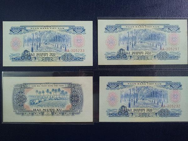 bộ tiền giải phóng 1966 601