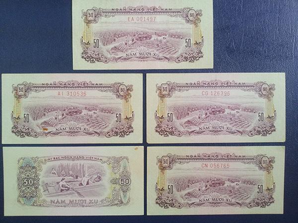bộ tiền giải phóng 1966 602
