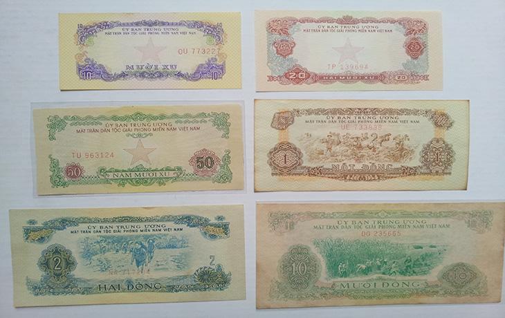 bộ tiền giải phóng 1963 730