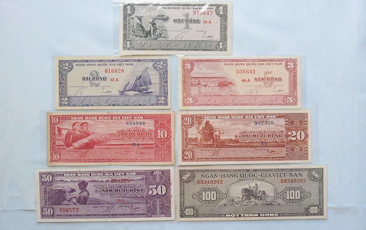 Bộ tiền 1955 lần 1 730