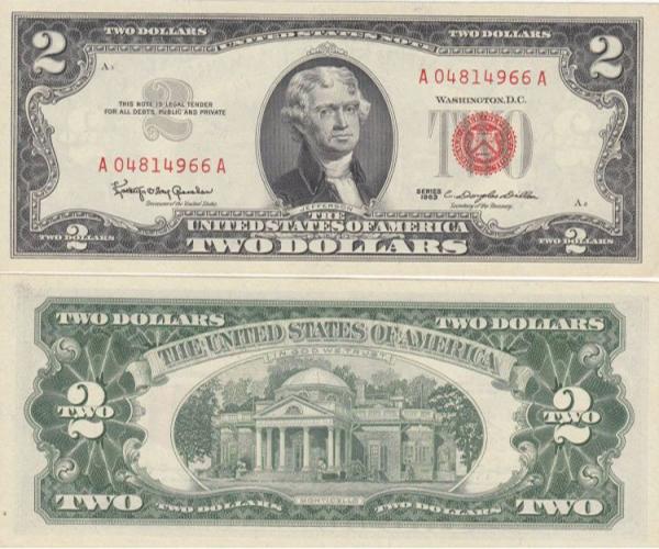2 usd 1963 2 mặt