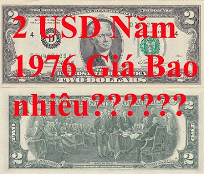 2 usd 1976 giá bao nhiêu