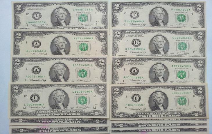 2 đô la 1976 lộc phát, thần tài