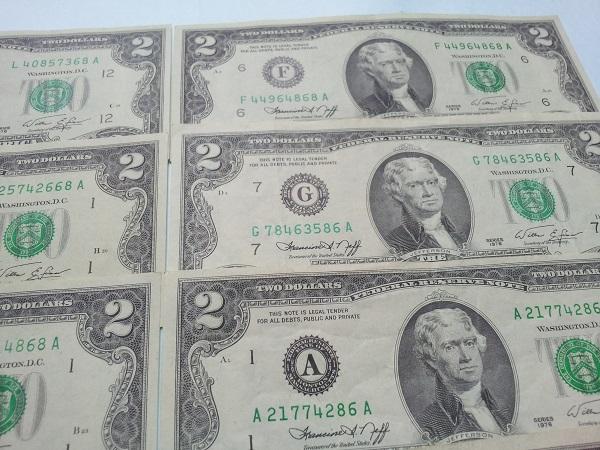 2 Dollar 1976 lộc phát