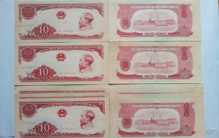 10 đồng năm 1958