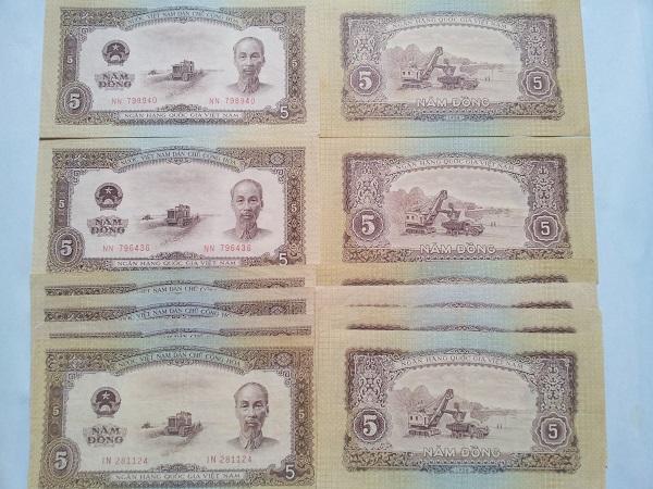 tiền 5đ năm 1958