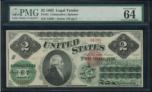 2 usd 1862