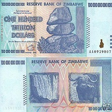 Tiền Zimbabwe 100 nghìn tỷ 228