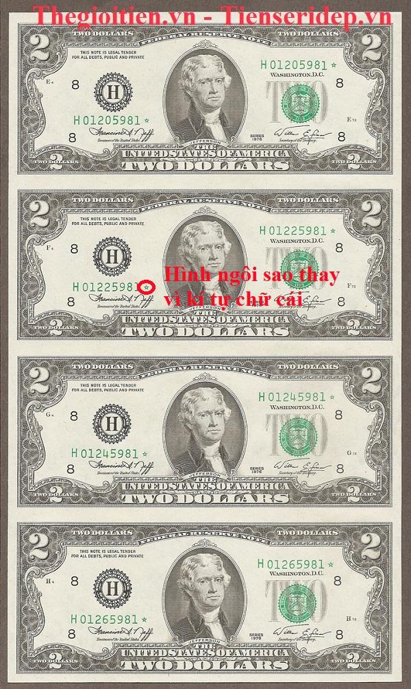 2 dollar 1976 lỗi sao