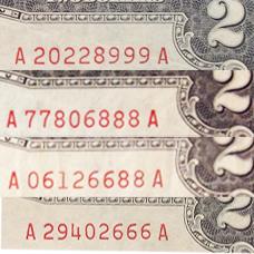 2 usd 1963 seri đẹp 228