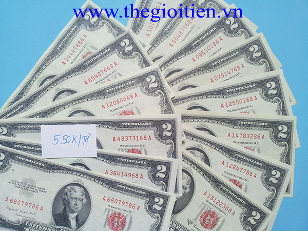 tiền 2 đô 1953