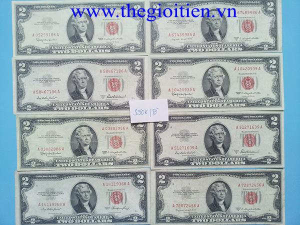 2 dollar 1953 seri đẹp
