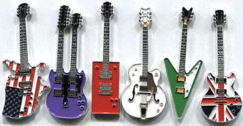 tờ tiền hình đàn guitar