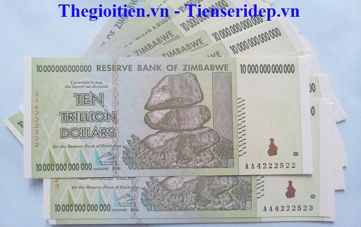 Tien zimbabwe 10 nghin ty