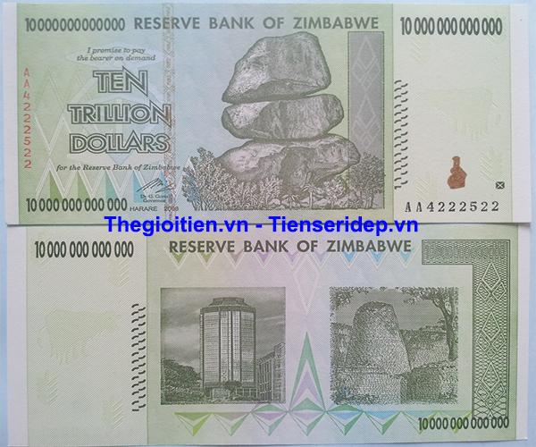 Tien zimbabwe 10k ty 2 mặt
