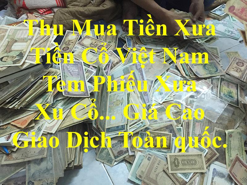 thu mua tiền xưa