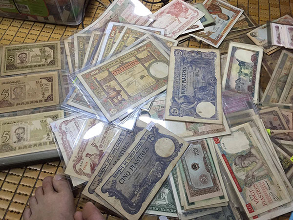 tiền cổ tiền xưa