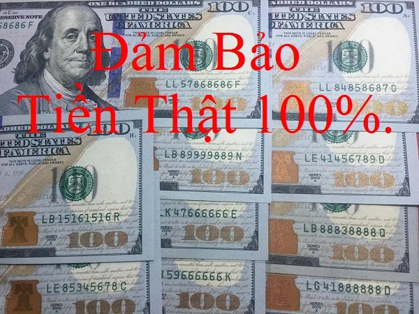 tiền 100 đô số đẹp