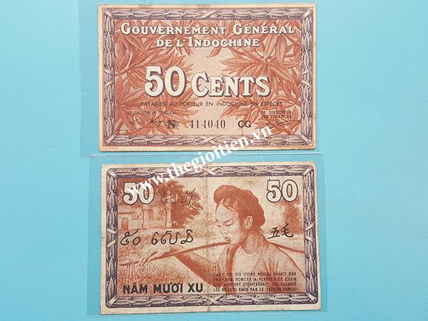 tiền cổ đông dương 1939