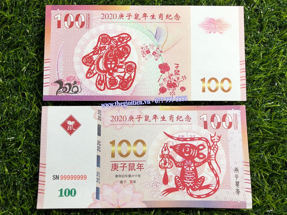 tiền macao 100 giá rẻ