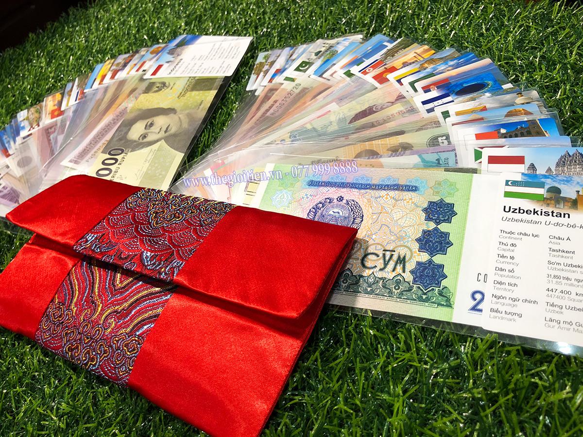 bộ tiền 52 tờ 28 quốc gia