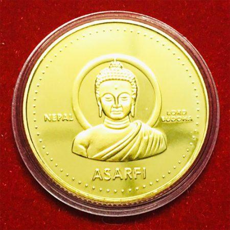 tiền xu phật nepal