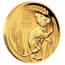 tiền xu chuột vàng