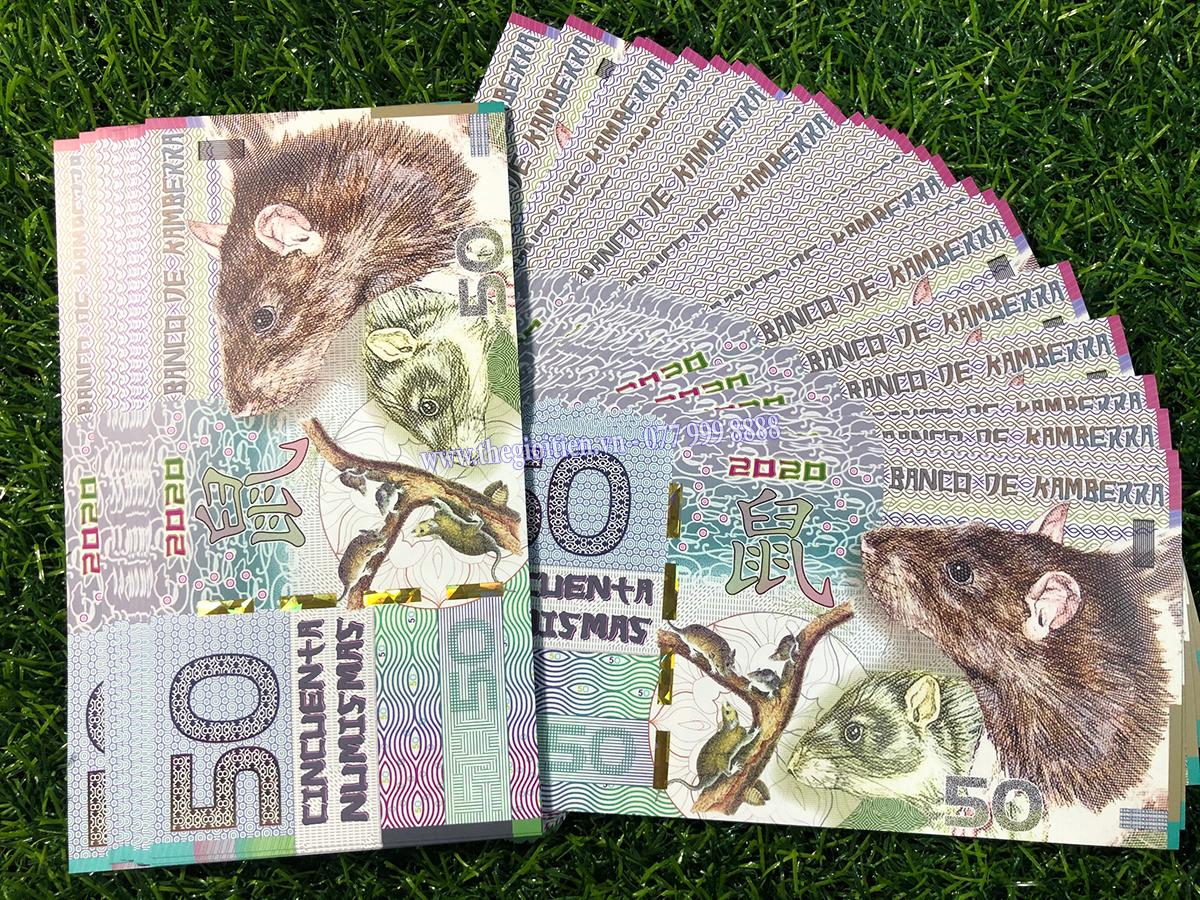 tiền chuột úc giấy
