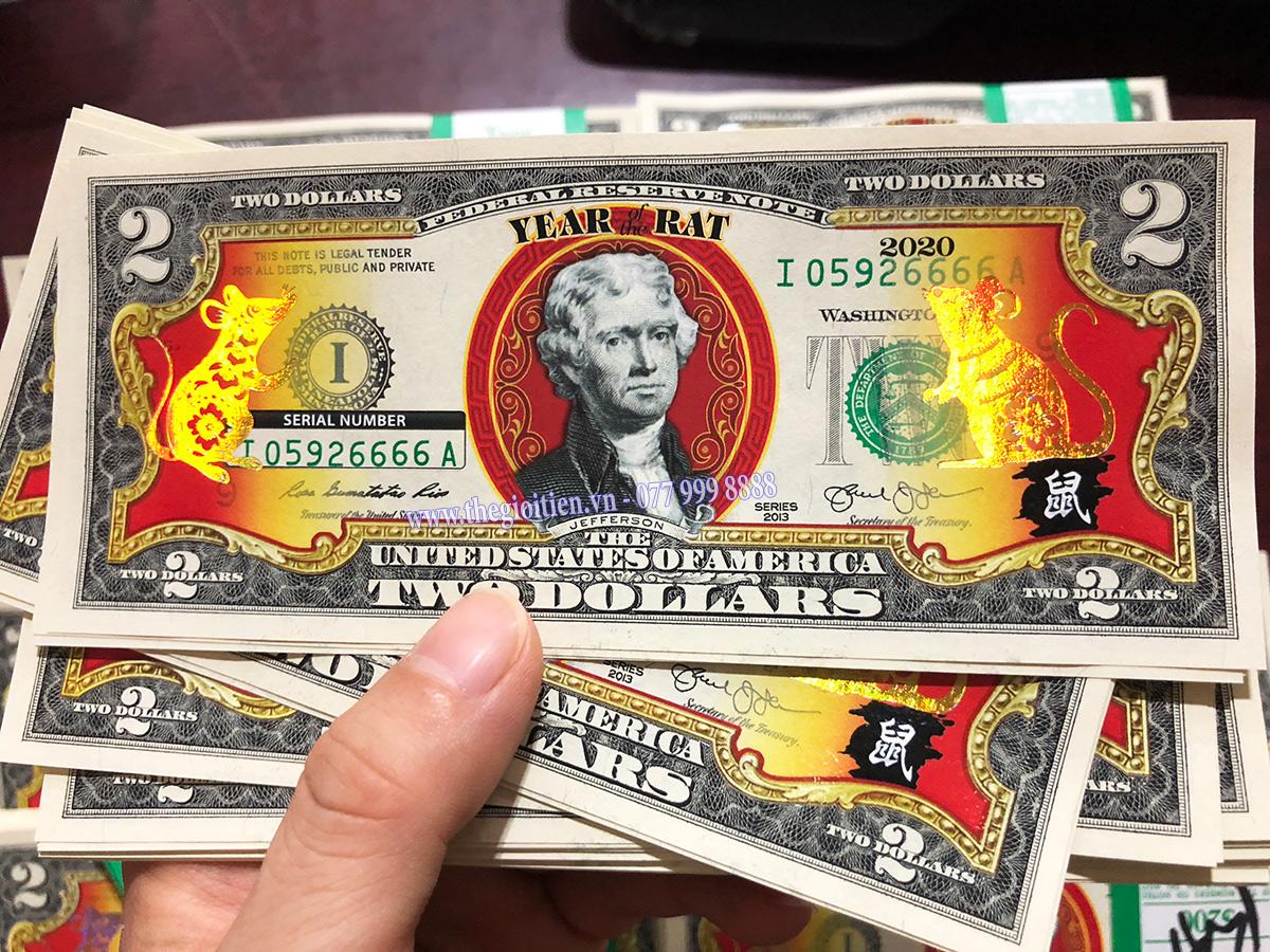 2 đô chuột vàng