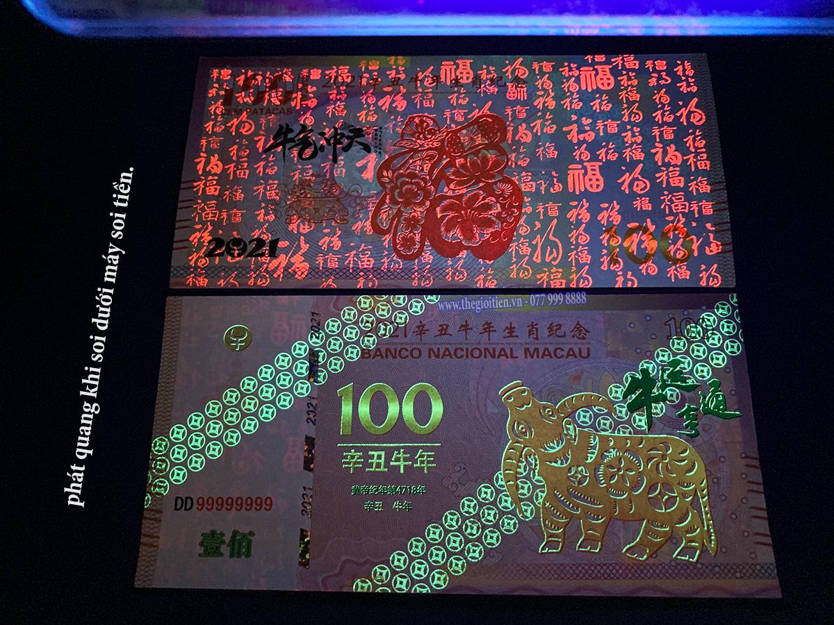 tiền con trâu 100 macao 2021