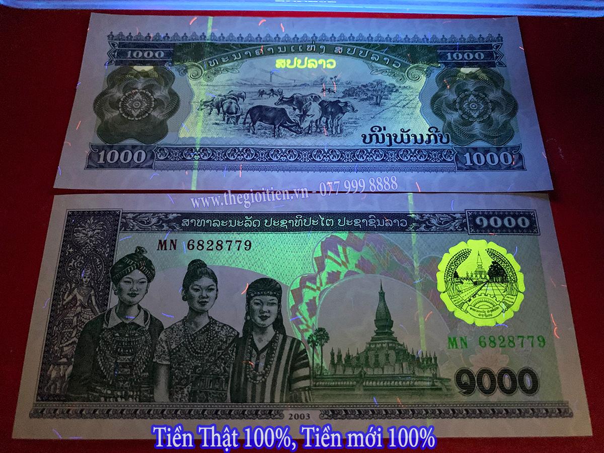 tiền hình con trầu lào 2003