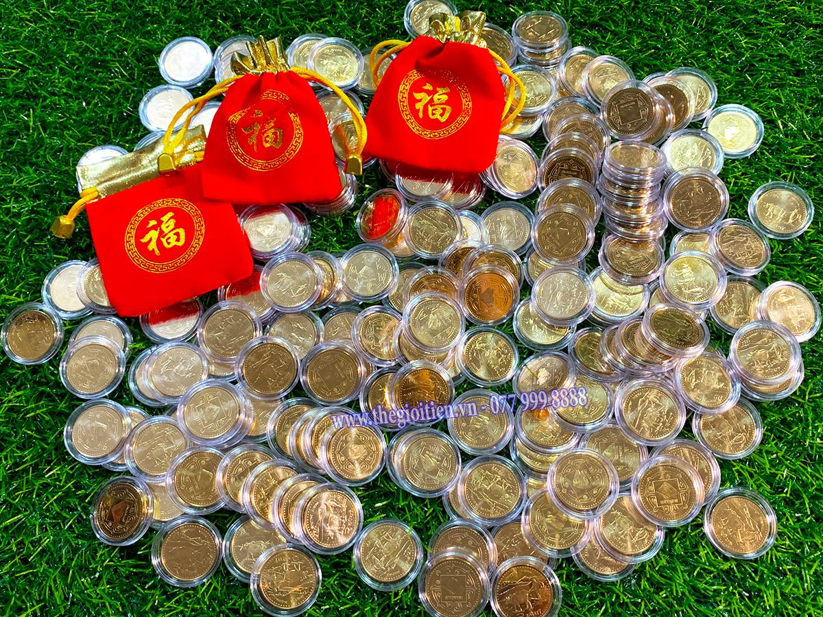 tiền xu trâu nepal