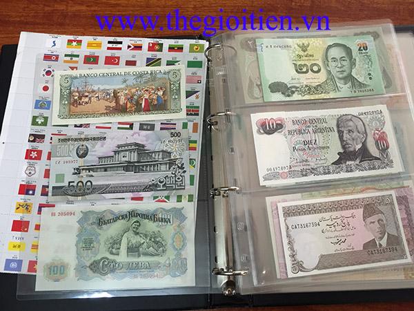 tiền thế giới 100 quốc gia