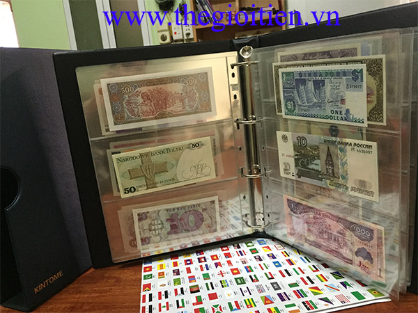 tiền thế giới 100 quốc gia khác nhau