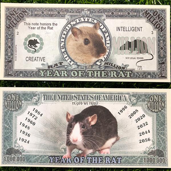 tiền con chuột 1 triệu usd
