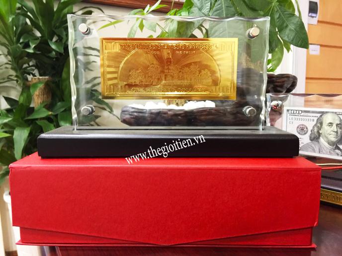 100 usd mạ vàng hongkong