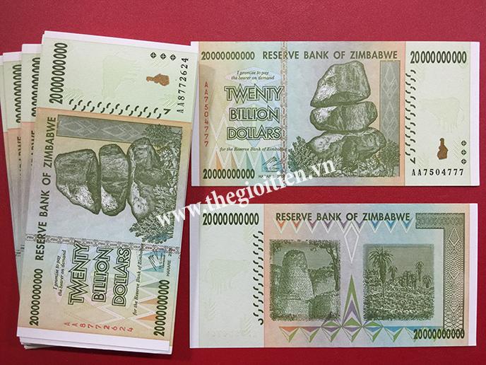 Tiền zimbabwe 20 tỷ
