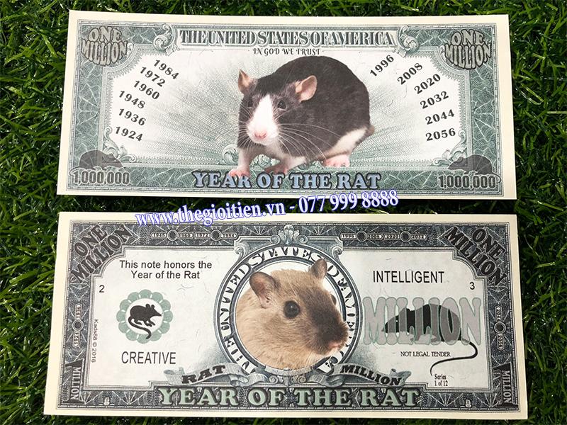 tiền 1 triệu usd hình chuột